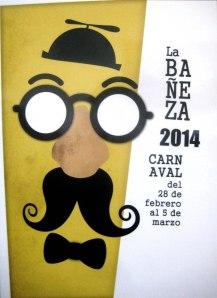 Cartel Carnaval de La Bañeza 2014